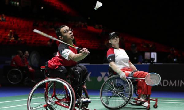 Parabadminton Badminton Qu 233 Bec